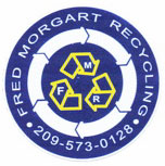 Fred Morgart On Site Scrap Metal Recycling in Central California
